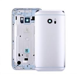Achterste schutblad voor HTC 10 / One M10(Silver)