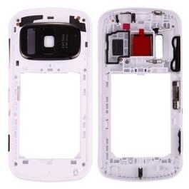 voor Nokia 808 PureView midden Frame Bezel(White)