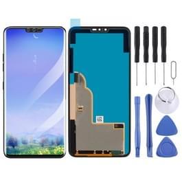 LCD-scherm en digitizer volledige assemblage voor LG V40 ThinQ (zwart)