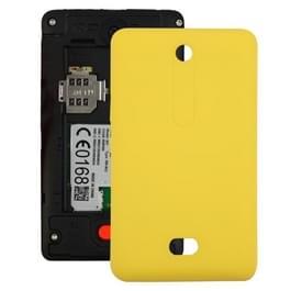 Batterij terug omslag voor Nokia Asha 501 (geel)