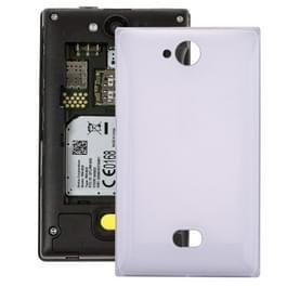 De dekking van de batterij terug voor Nokia Asha 503 (wit)
