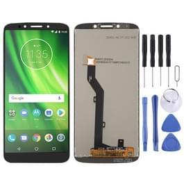 LCD-scherm en digitizer volledige assemblage voor Motorola Moto G6 spelen (zwart)