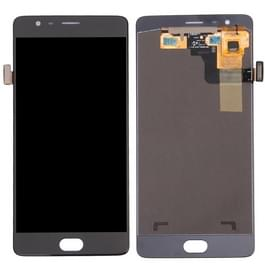 LCD-scherm en Digitizer voor OnePlus 3 (A3000 Version)(Black)