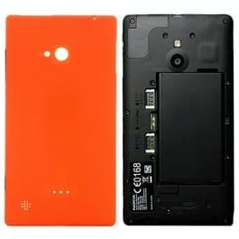 Achterste schutblad voor Nokia Lumia 720 (oranje)
