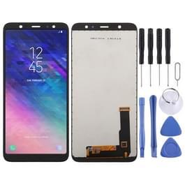 incell LCD-scherm en digitizer volledige assemblage voor Galaxy A6 PLUS (2018) A605G (zwart)