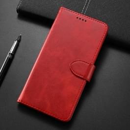 Kalf textuur horizontale Flip lederen case voor Samsung Galaxy S10 5G  met houder & card slots & portemonnee (rood)