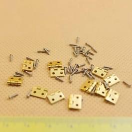 Poppenhuis DIY miniatuur Fitment materiaal metalen scharnieren en schroeven voor mini deur