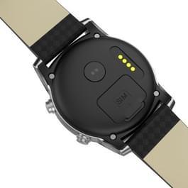 KW99 1.39 inch AMOLED scherm Display Bluetooth Smart Watch  steun stappenteller / Real-time hartslag Monitor / informatie duwen / GPS navigatie  compatibel met Android en iOS Phones(Silver)