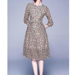 Luipaard Lace Dress (kleur: als Toon grootte: L)