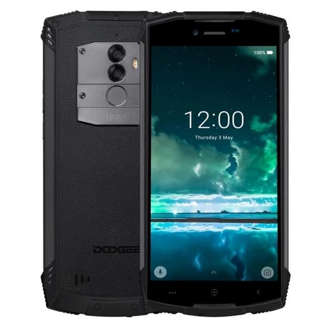 DOOGEE S55 Triple Proofing Phone 4GB+64GB IP68 Waterproof Dustproof Shockproof 5500mAh Battery Dual Back Cameras Fingerprint Identification 5.5 inch