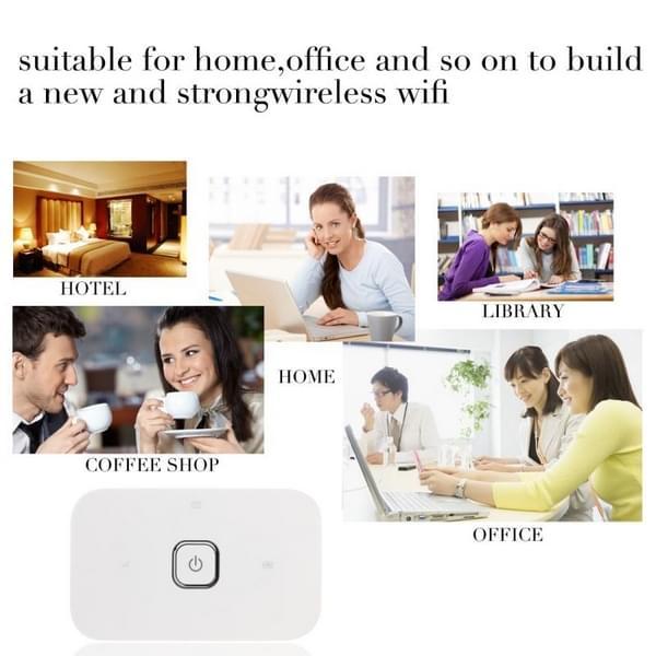 Huawei Vodafone Draagbaar Wifi Hotspot R216 Pocket Wifi 4g