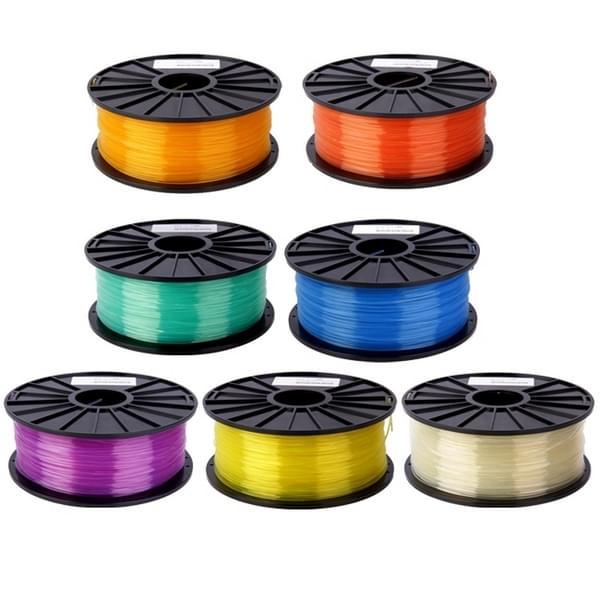 PLA 3 0 mm transparant 3D Printer filamenten over 115m(Blue)