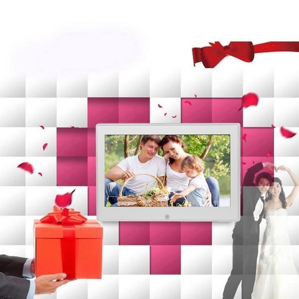 7 inch LED Display Multi-media Digital Photo Frame met houder ...