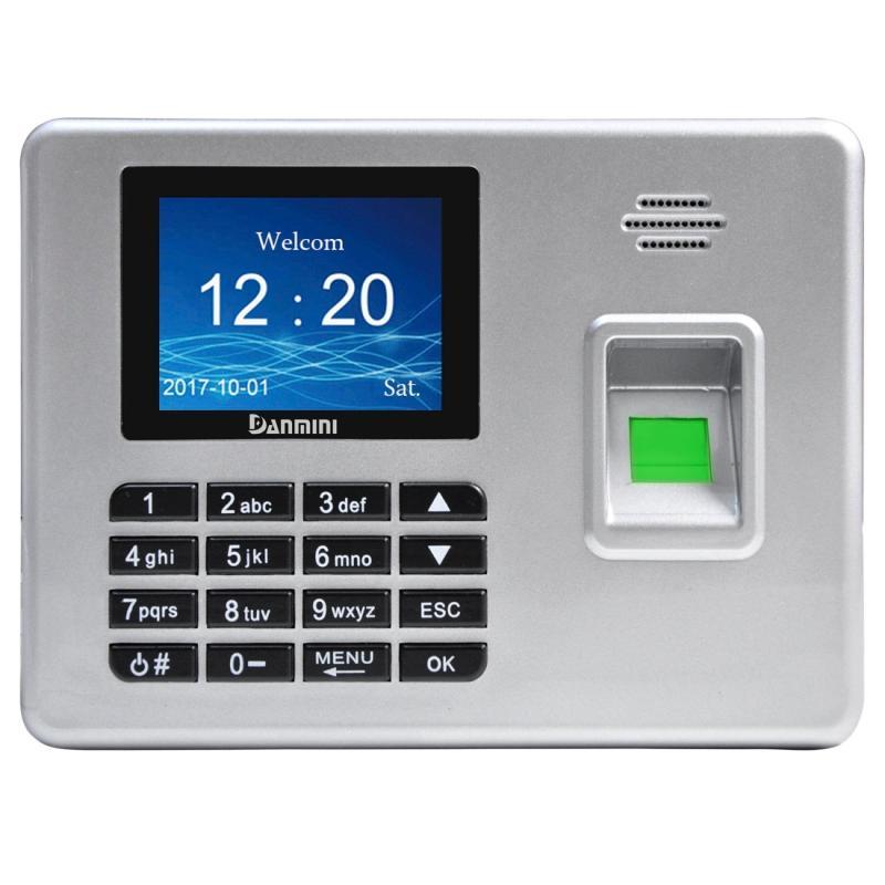 Afbeelding van A3 2 8 inch kleur TFT scherm biometrische vingerafdruk Time Attendance USB-communicatie Office Time Attendance klok (zilver)