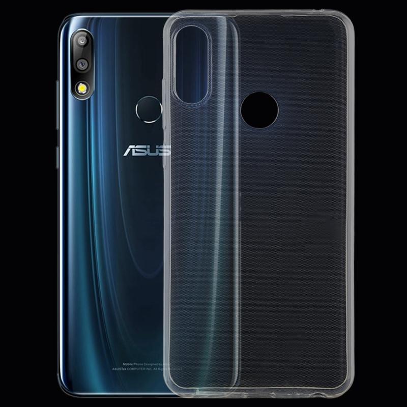Afbeelding van 0 75 mm uiterst dunne transparante TPU beschermende softcase voor Asus Zenfone Max Pro (M2) ZB631KL