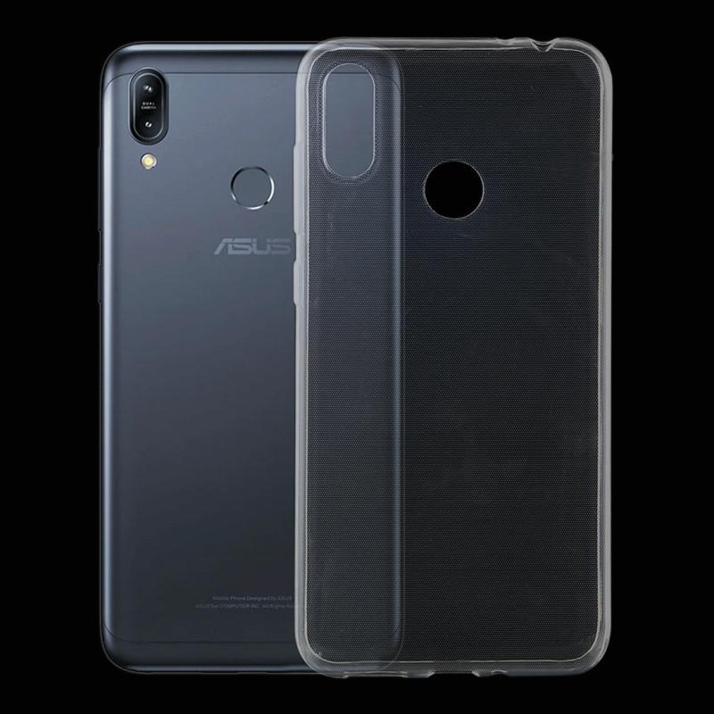 Afbeelding van 0 75 mm uiterst dunne transparante TPU beschermende softcase voor Asus Zenfone Max Pro (M2) ZB633KL