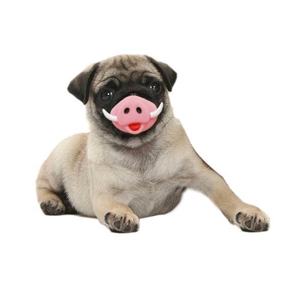 Afbeelding van Huisdier speelgoed varken neus huisdier geluid productie speelgoed Halloween speelgoed geschikt voor middelgrote en grote honden