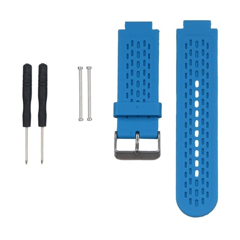 Silicone Sport Wrist Strap for Garmin Approach S2 / S4 (Blue)