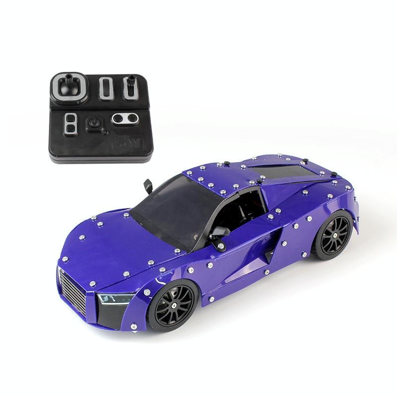 Afbeelding van MoFun SW (RC)-002 afstandsbediening legering vergadering Model voertuig Toy Audi R8