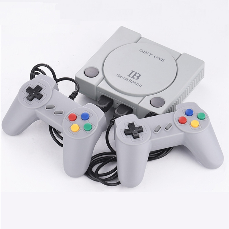 Afbeelding van RS-70 retro game console Mini HD HDMI Home TV handheld game console ingebouwde 648 games EU plug