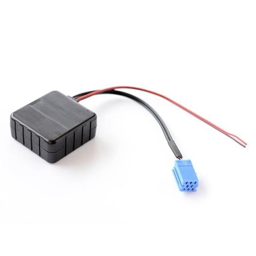 Afbeelding van Auto draadloze Bluetooth module audio AUX adapter kabel voor Volkswagen/Audi Becker Philips Delta Blaupunkt Lotus L3