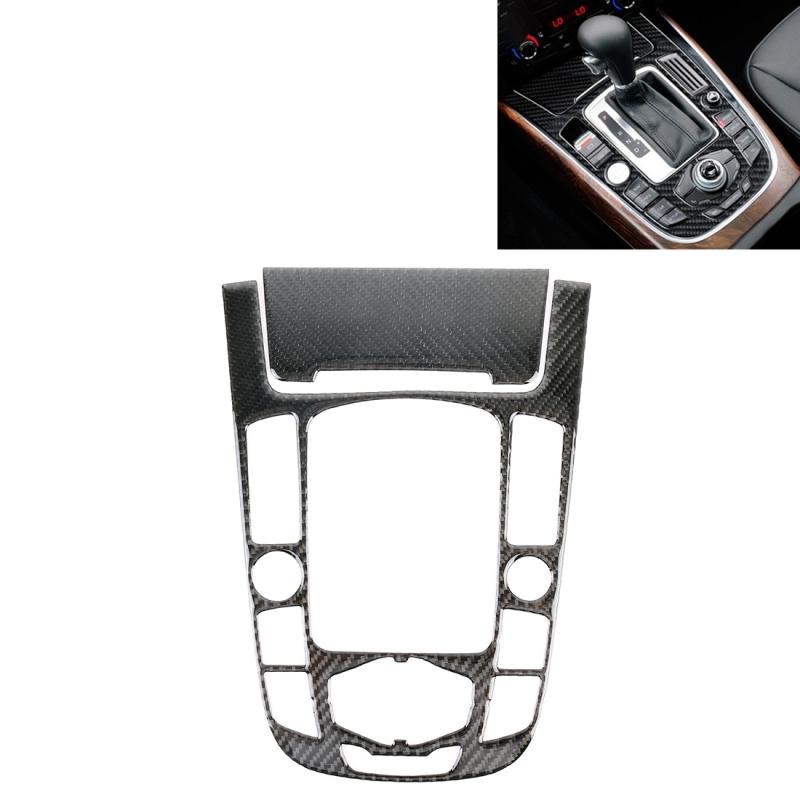 Afbeelding van 2 stuks auto Carbon Fiber Gear panel decoratieve sticker voor Audi A4L/A5/Q5