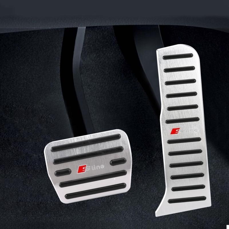 Afbeelding van 2 PC's automaat auto pedalen Pads voor Audi Q3
