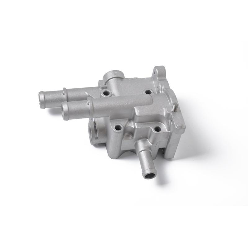 Afbeelding van Auto koelvloeistof thermostaat set thermostaat behuizing cover + koelvloeistof water temperatuur sensor 96817255/55591401 voor Chevrolet/Opel