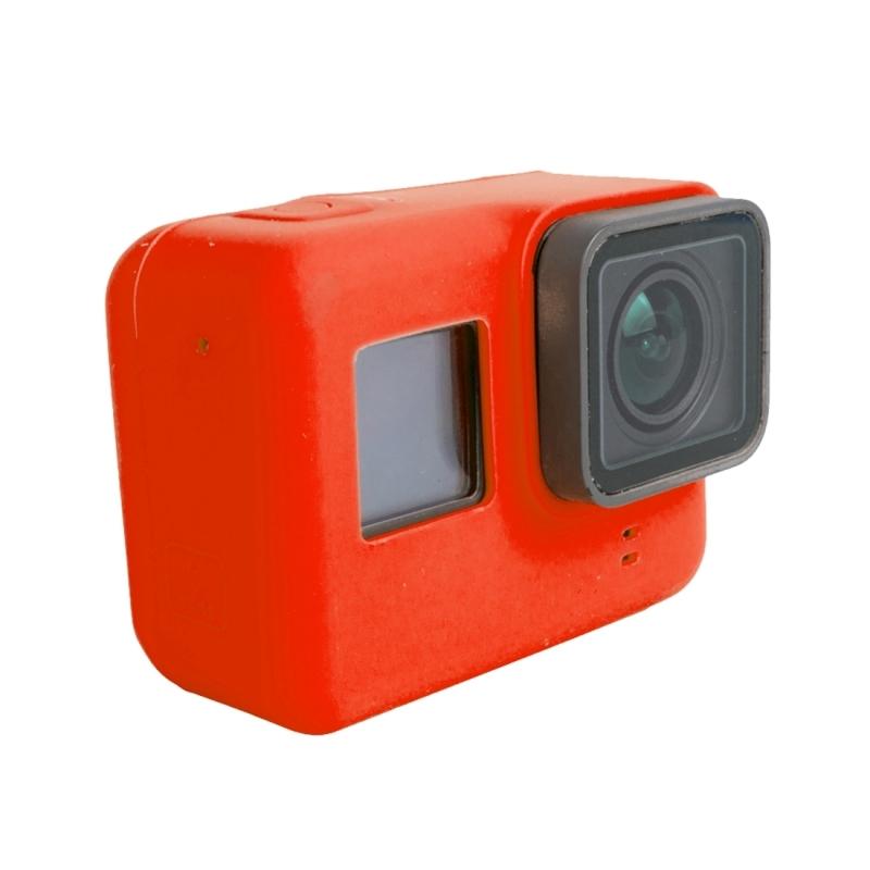 Voor GoPro HERO 5 siliconen behuizing beschermings hoesje Cover Shell(rood)