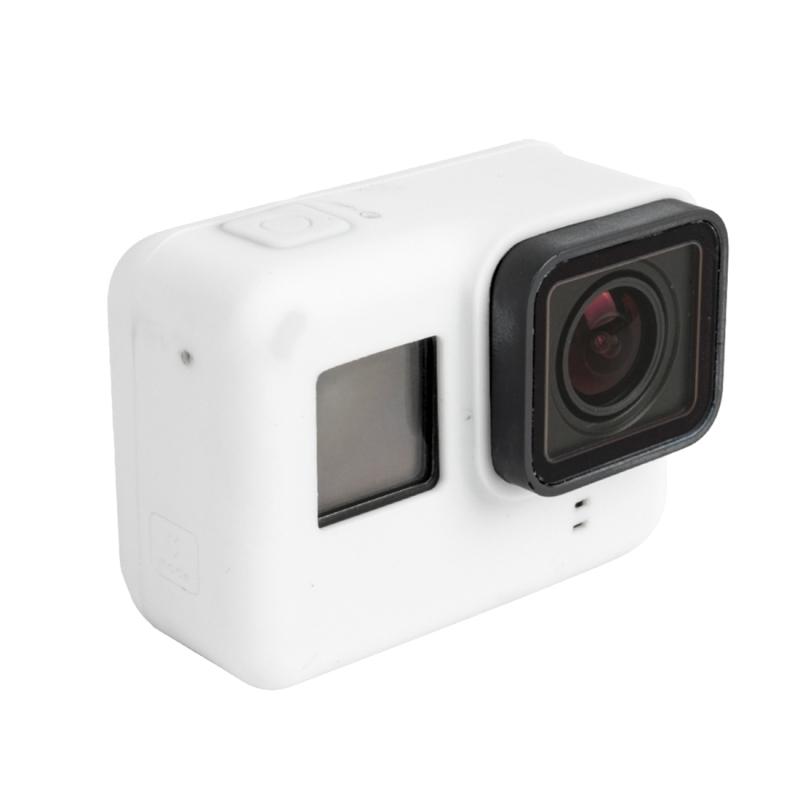 Voor GoPro HERO 5 siliconen behuizing beschermings hoesje Cover Shellwit