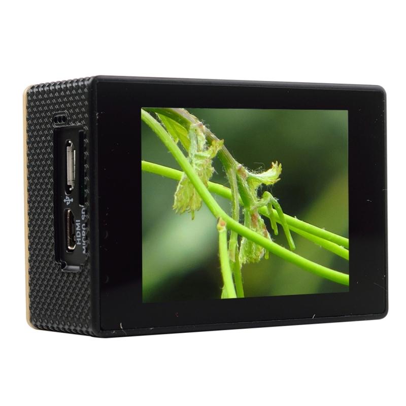 SOOCOO C30R 2.0 inch scherm 170 graden breed hoek WiFi Sport actie Camera Camcorder ontmoet huisvesting Waterdicht hoesje & Remote Controller, ondersteuning van 64 GB Micro SD kaart & bewegingsdetectie & Diving modus & stem Prompt & Anti-Shake & HDMI Outp