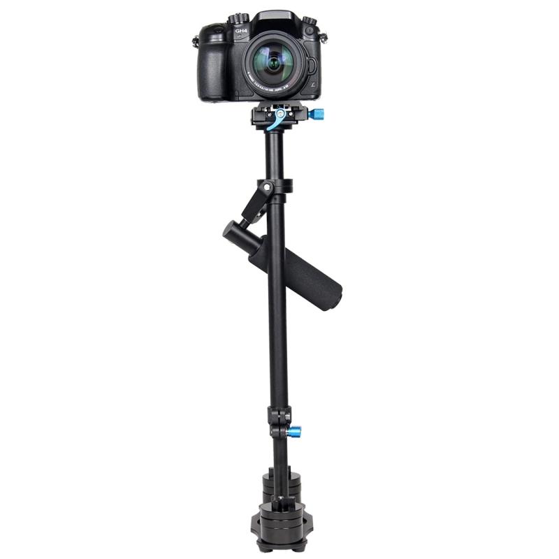 YELANGU S60L 61cm Aluminium Handheld Stabilisator voor DSLR Camera DV