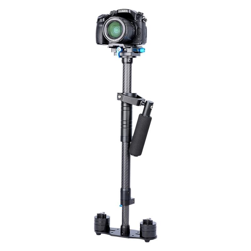 YELANGU S80T Professionele 58-80cm Aluminium Handheld Stabilisator voor DSLR & DV Digital Video Camera, Maximaal draagvermogen: 4 kg