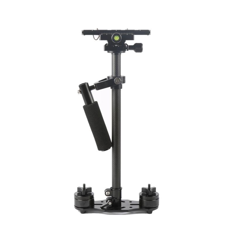 SY-JQ06 40-60cm Koolstofvezel Handheld Stabilisator Steadicam voor DSLR & DV Digitale Video Camera, Draagvermogen: 0.5-3 kg