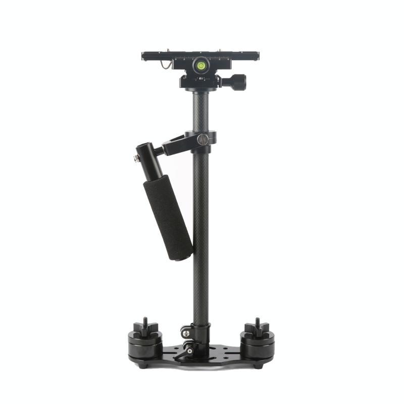 SY-JQ08 48-80cm Koolstofvezel Handheld Stabilisator Steadicam voor DSLR & DV Digitale Video Camera, Draagvermogen: 0.5-4 kg
