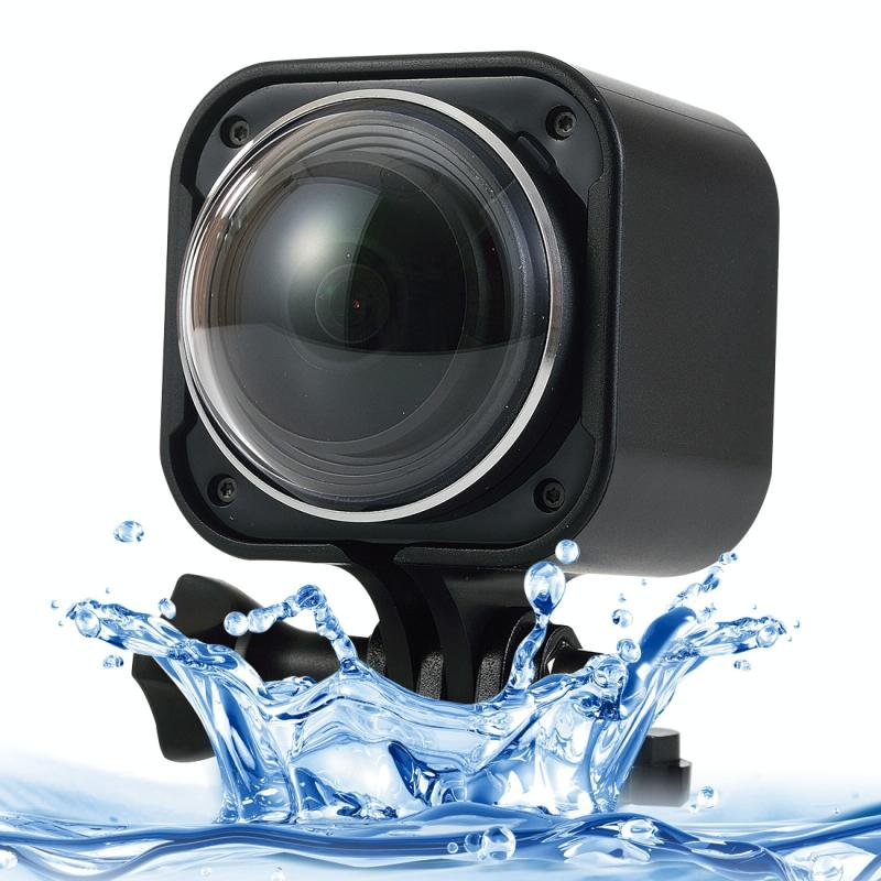 CUBE360H 0,83 inch HD scherm 220 graden & 360 graden Panorama Sport actie Camera Camcorder ontmoet Wearable pols 2.4G draadloze Remote Controller, ondersteuning voor 32 GB Micro SD Card, Water Resistant Diepte: 10M