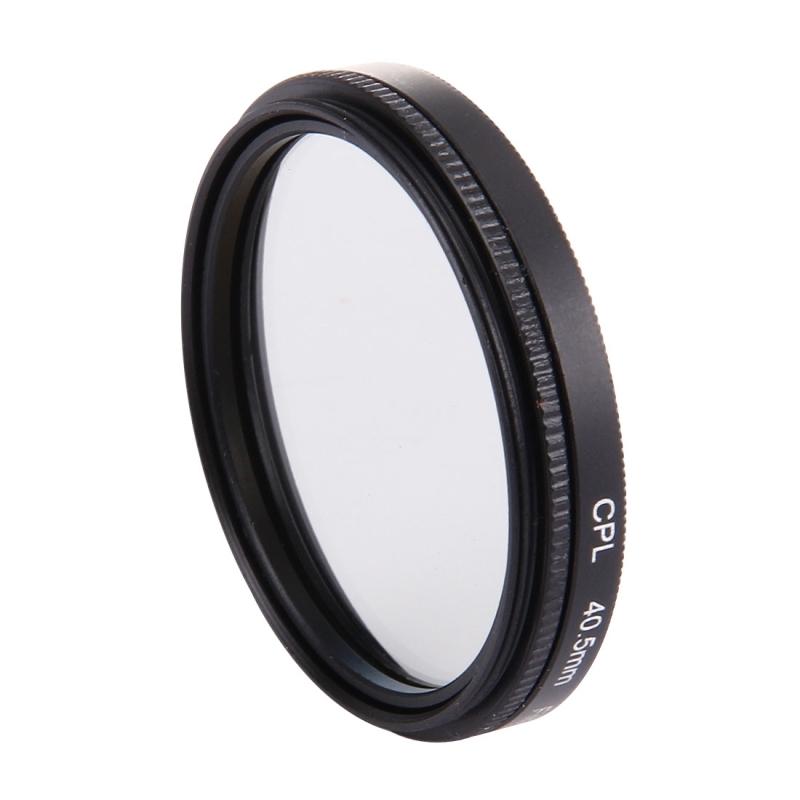 JUNESTAR 4 in 1 Proffesional 40.5mm Lens huisvesting Filter(CPL + UV) & Waterdicht hoesje Adapter Ring & Lens beschermings Cap voor GoPro HERO4 / 3 + / 3 Sport actiecamera