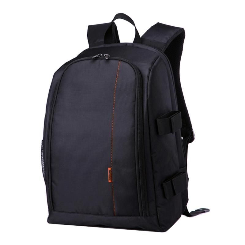 HUWANG HU107490 Waterbestendige Polyester DSLR Laptop Notebook Backpack Rugtas voor GoPro, SJCAM, Nikon, Canon, Sony Camera, Afmetingen: 43 x 30 x 15.5 cm (Oranje)