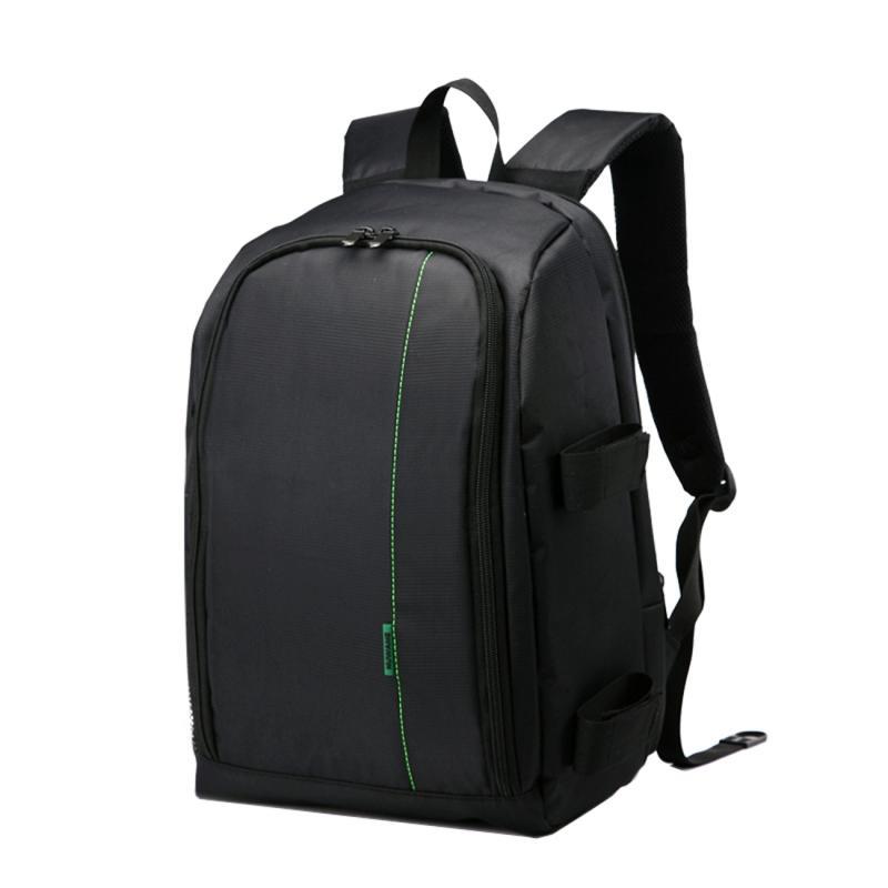 HUWANG HU107490 Waterbestendige Polyester DSLR Laptop Notebook Backpack Rugtas voor GoPro, SJCAM, Nikon, Canon, Sony Camera, Afmetingen: 43 x 30 x 15.5 cm (groen)