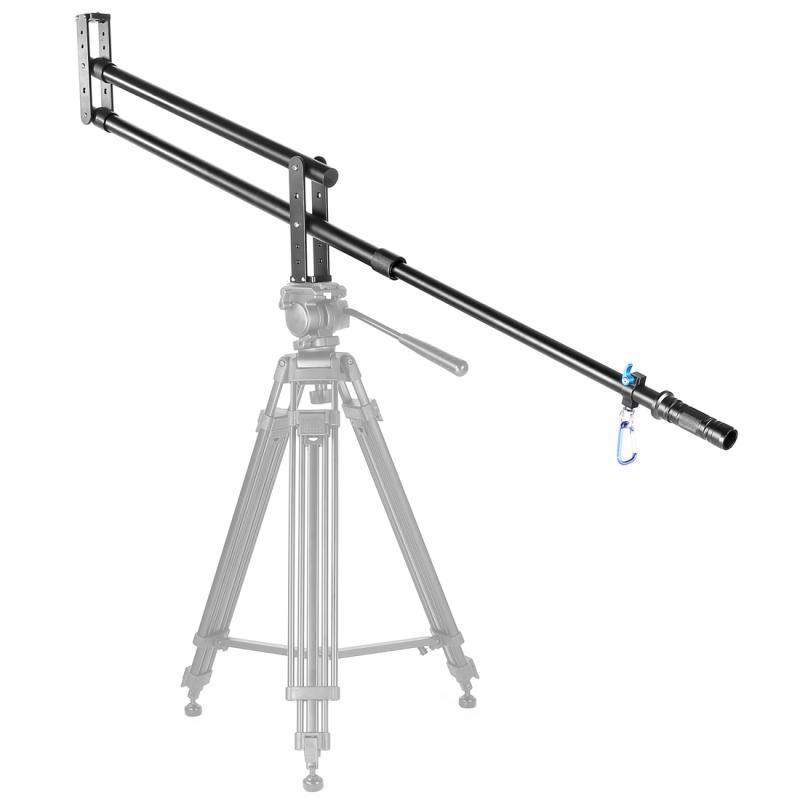 YELANGU YLG0110A draagbare Camera kraan Arm Jib voor DSLR camera's lengte: 2m Max belasting: 5kg(Black)