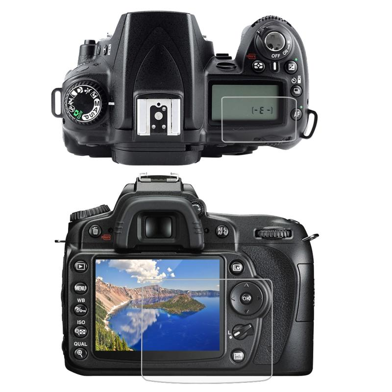 9H Gehard glas Scherm bescherming protector voor NIKON D90 Camera