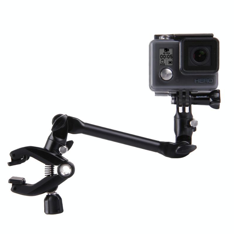 360 graden verstelbaar gitaar bas viool muziekstandaard Mount voor  GoPro HERO 7 / 6 / 5 / 5 session / 4 session / 4 / 3+/ 3 / 2 / 1    Xiaoyi nl andere actie camera's