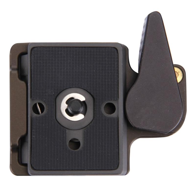 Fittest DBC-1 Aluminium Klemhouder met 200PL-14 Snelkoppel Plaat voor Camera Tripod Statief