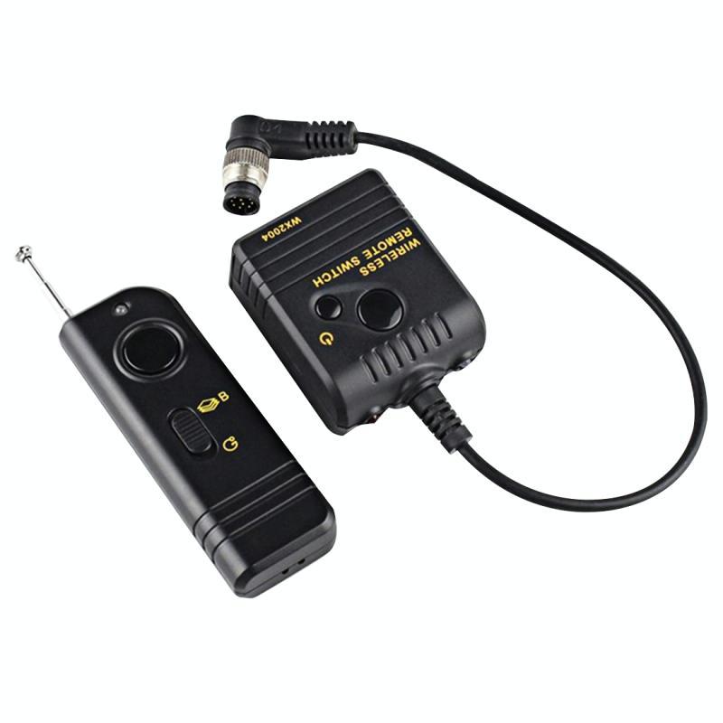 WX2004 Digitale Draadloze Ontspanknop Afstandsbediening voor NIKON: N90s / F5 / F6 / F100 / D2Hs / D2X / D300 / D700, Kodak: DSC-14N, Fuji: S3 Pro / S5 Pro Camera