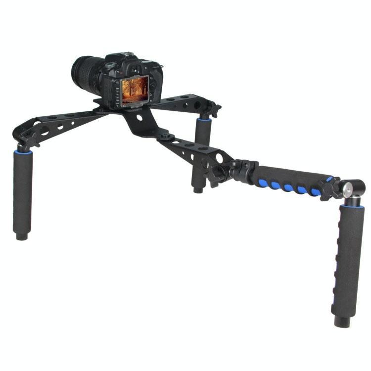 YELANGU D6-1 tuig ik multifunctionele grepen Camera schouder Mount voor DSLR Camera / Video Camera (blauw)