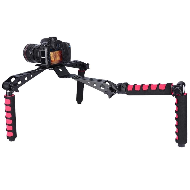YELANGU D6-2 Rig ik multifunctionele grepen Camera schouder Mount voor DSLR Camera / Video Camera(Red)