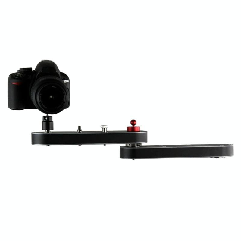 SY-4BZJ Portable 70cm 4X Rail schuif slider systeem Stabilisator voor GoPro & Nikon Canon DSLR Video Camera