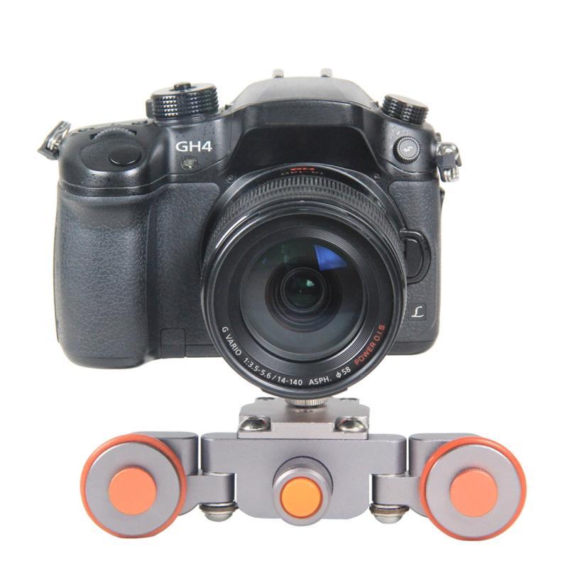YELANGU YLG1501 Geschaalde Mini Camera Dolly Auto voor DSLR / Mirrorless Camera