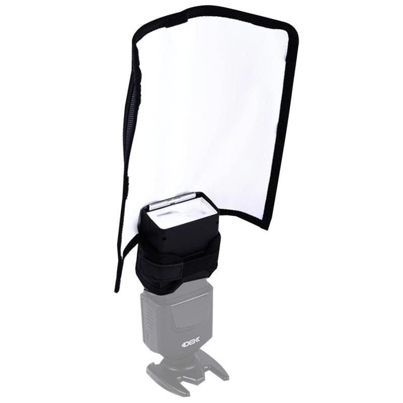 K-B23 Opvouwbaar Portable Reflector Board met 3 ingebouwde draagstangen, Afmetingen: 28.3 x 24.5 cm