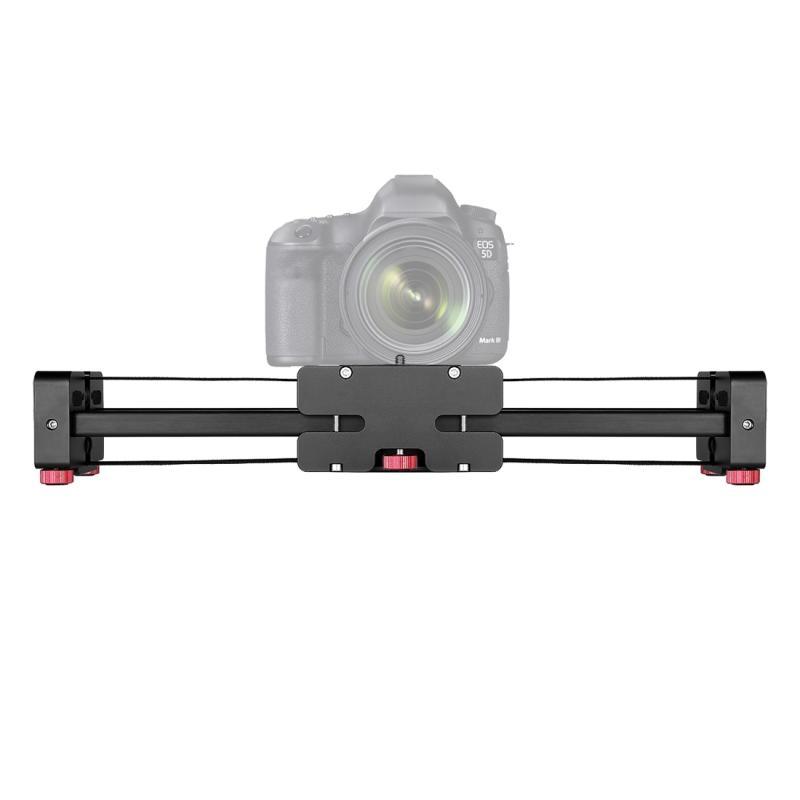 FT-52 Portable 48cm / 102cm Rail Schuif Systeem voor op Tripod Standaard Statief van DSLR / SLR / Video Camera (zwart)